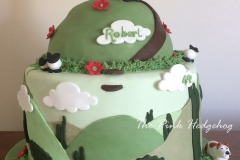 Glastonbury Tor Cake